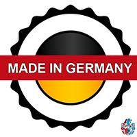 Made in Germany Infrarotheizung Hergestellt in Deutschland Paste